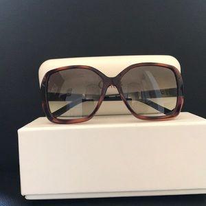 Chloe Gradient Square Sunglasses